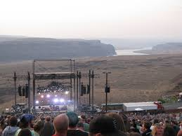 Concert at the Gorge Amphitheater