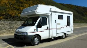 A cheap RV rental on the road