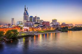 Picture Of Nashville From A Rented RV