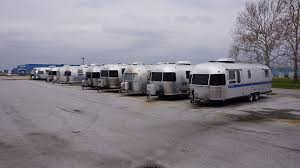 A bunch of RVs to rent in Ohio
