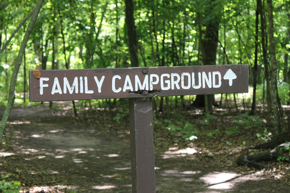 Hungry Horse Campground Sign