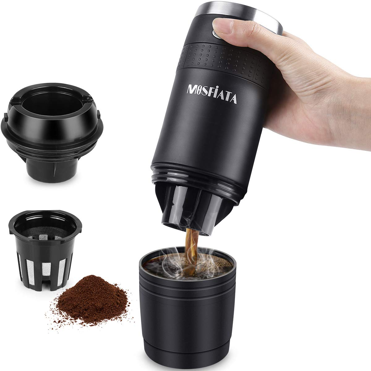 Set for Mosfiata Travel Coffee Maker