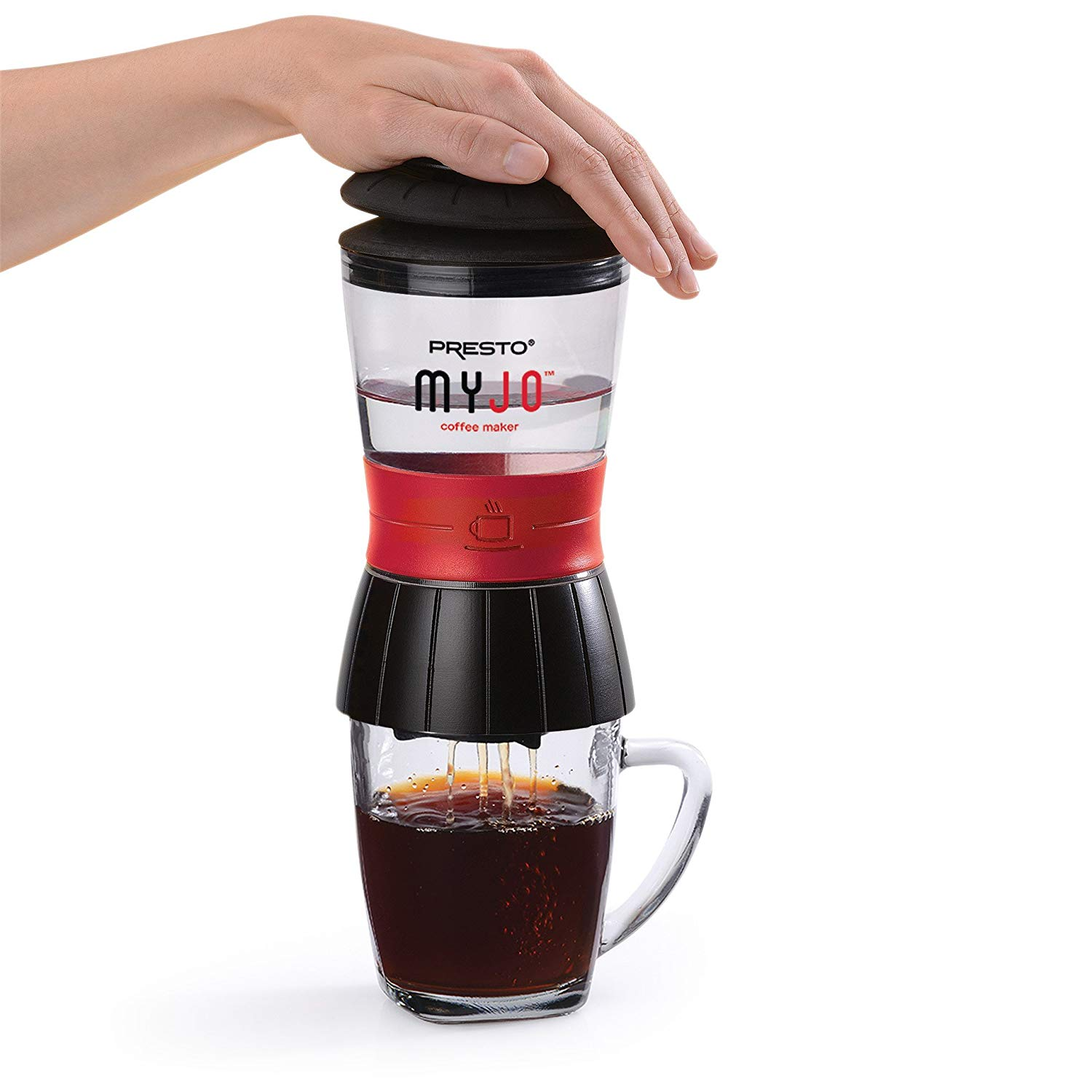 Presto Single Cup Portable Travel Coffee Maker