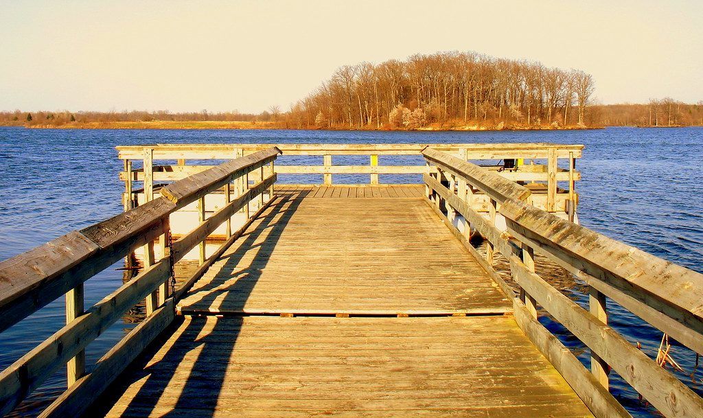 Dock at Sleepy Hollow State Park