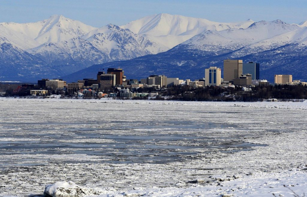 Anchorage Alaska Frozen