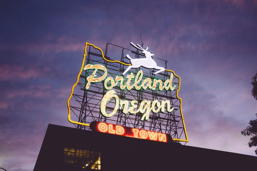 Famous Portland Sign
